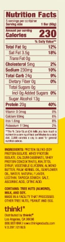 think! Lemon Delight High Protein Bars Perspective: right