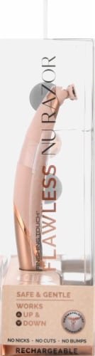 Finishing Touch® Flawless Nu Razor 4 Pack Perspective: right
