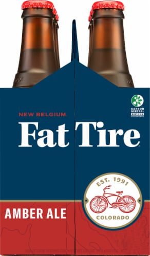 New Belgium Fat Tire Amber Ale Perspective: right