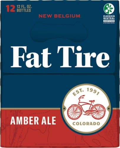 New Belgium Fat Tire Amber Ale Beer Perspective: right