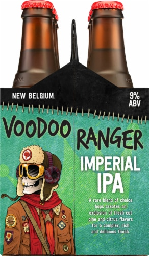New Belgium Voodoo Ranger Imperial IPA Perspective: right
