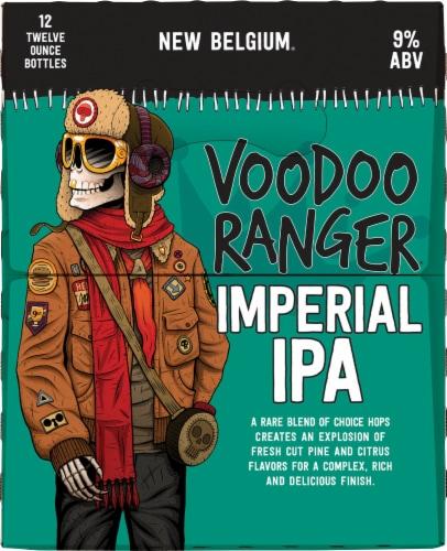 New Belgium Voodoo Ranger Imperial IPA Beer Perspective: right