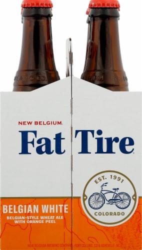 New Belgium Fat Tire Belgian White Beer Perspective: right
