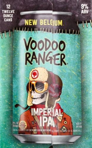 New Belgium Voodoo Ranger Imperial IPA Perspective: right