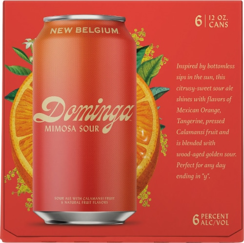 New Belgium® Dominga™ Mimosa Sour Ale with Orange Perspective: right