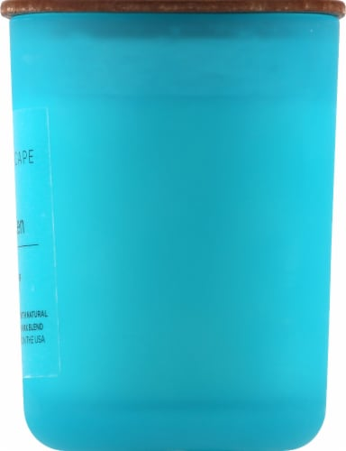 Pacific Trade Aromascape Awaken Ocean Air Jar Candle Perspective: right