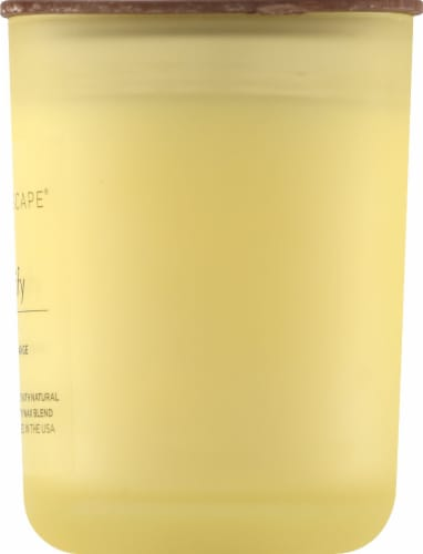 Aromascape Purify Sweet Orange Jar Candle Perspective: right