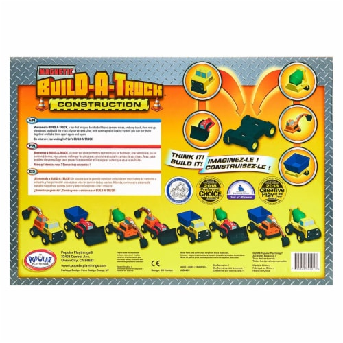 Popular Playthings PPY60401 Build A Truck - Grade 3 Perspective: right