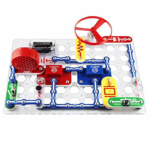 Elenco Snap Circuits Jr. Perspective: right