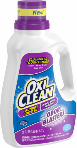 OxiClean Odor Blasters Classic Clean Scent Odor & Stain Remover Laundry Booster Perspective: right