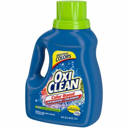 OxiClean Triple Power Free Stain Fighter Laundry Detergent Perspective: right