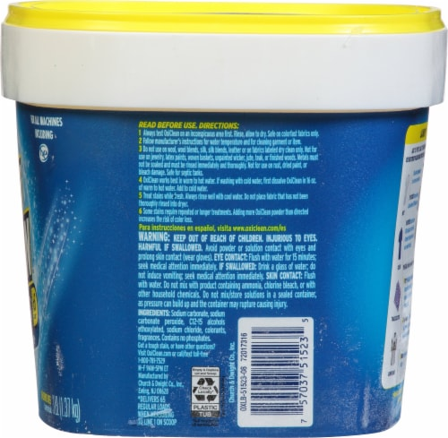 OxiClean™ Versatile Powder Stain Remover Perspective: right