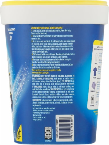OxiClean Versatile Stain Remover Laundry Powder Perspective: right