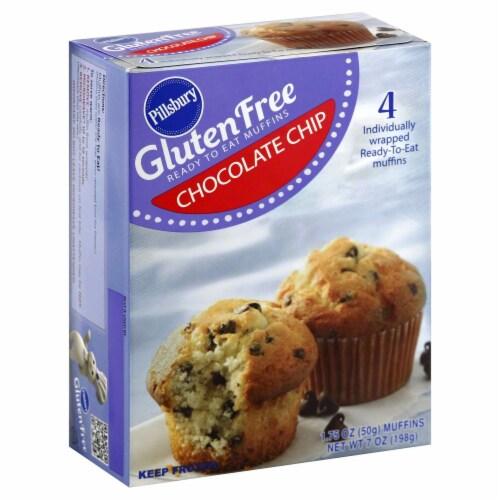 Pillsbury Gluten Free Chocolate Chip Muffins Perspective: right