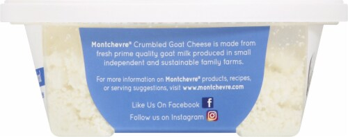 Montchevre Original Crumbled Goat Cheese Perspective: right