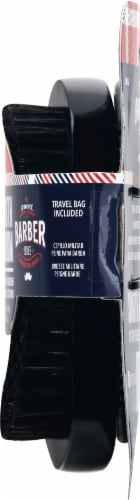 WavEnforcer Barber Series Smooth & Military Brush & Beard Comb Perspective: right