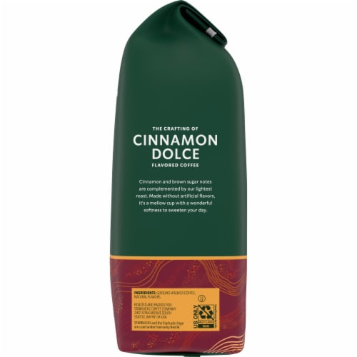 Starbucks Cinnamon Dolce Ground Coffee Perspective: right