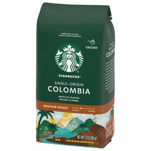 Starbucks Colombia Single-Origin Medium Roast Ground Coffee Perspective: right
