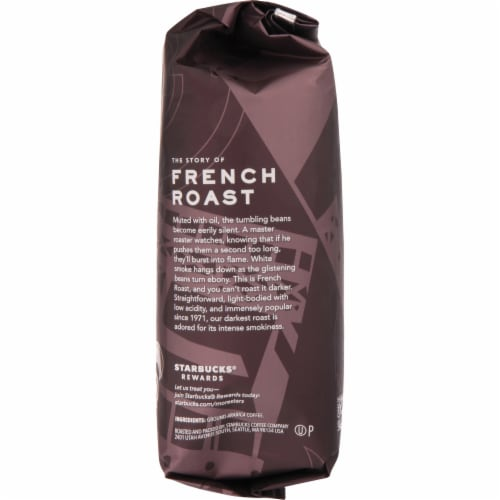 Starbucks Dark French Roast Ground Coffee Perspective: right
