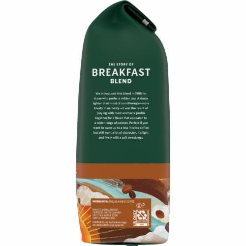 Starbucks Breakfast Blend Medium Roast Ground Coffee Perspective: right