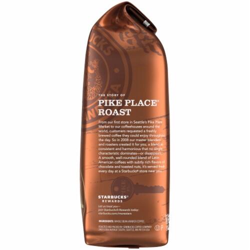 Starbucks Pike Place Medium Roast Whole Bean Coffee Perspective: right