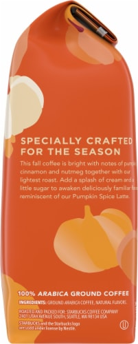 Starbucks® Limited Edition Pumpkin Spice Flavored Ground Coffee Perspective: right