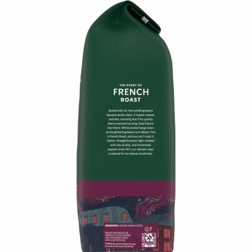 Starbucks French Roast Ground Coffee Perspective: right