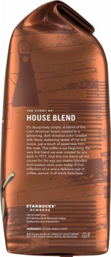 Starbucks House Blend Medium Roast Ground Coffee Perspective: right