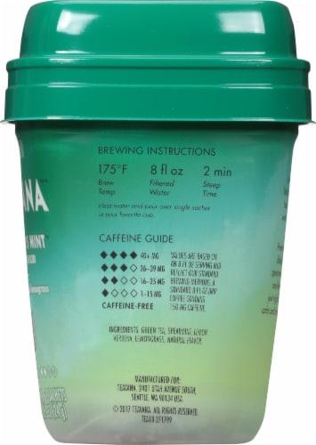 Teavana Jade Citrus Mint Green Tea Blend Sachets Perspective: right