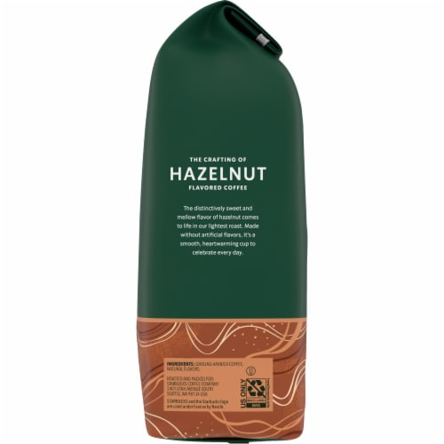 Starbucks Hazelnut Flavored Ground Coffee Perspective: right