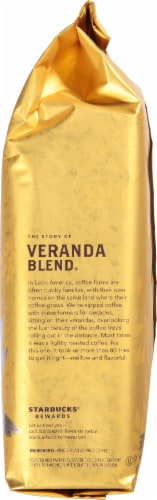 Starbucks Veranda Blend Whole Bean Coffee Perspective: right