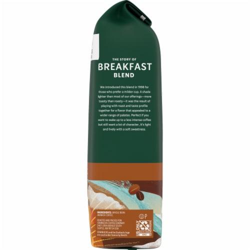 Starbucks Breakfast Blend Medium Roast Whole Bean Coffee Perspective: right