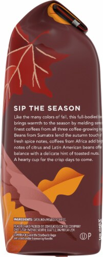 Starbucks® Fall Blend Ground Coffee Perspective: right