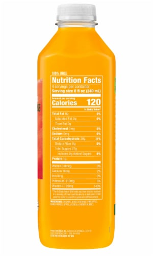 Evolution Fresh Organic Defense Up Cold-Pressed Fruit Juice Smoothie Perspective: right