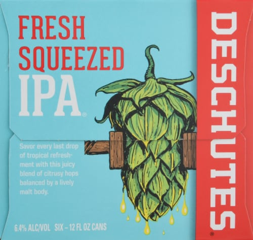 Deschutes Brewery Fresh Squeezed IPA Perspective: right
