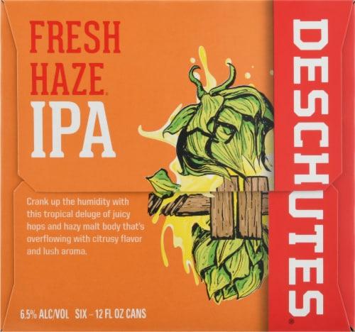 Deschutes Fresh Haze IPA Beer Perspective: right