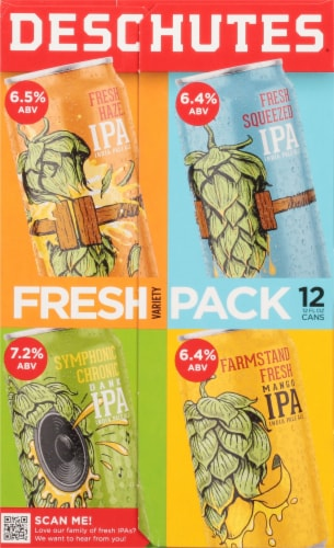 Deschutes Brewery Variety Pack Perspective: right