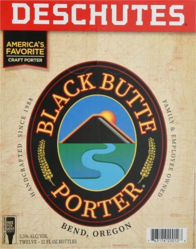 Deschutes Brewery Black Butte Porter Perspective: right