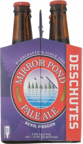 Deschutes Brewery Mirror Pond Pale Ale Perspective: right