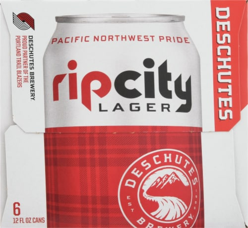 Deschutes Brewery Rip City Lager Perspective: right