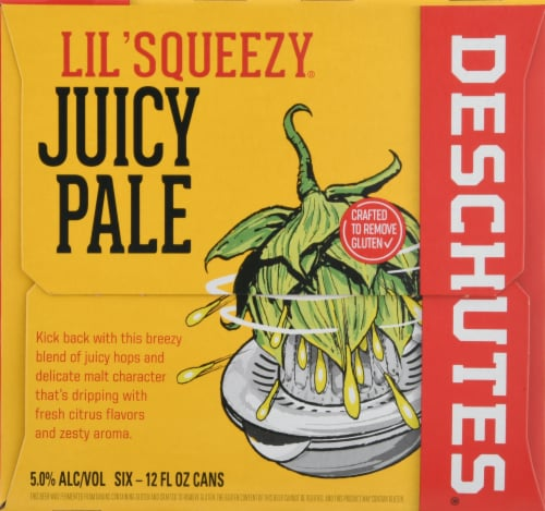 Deschutes Brewery Lil' Squeezy Juice Ale Perspective: right