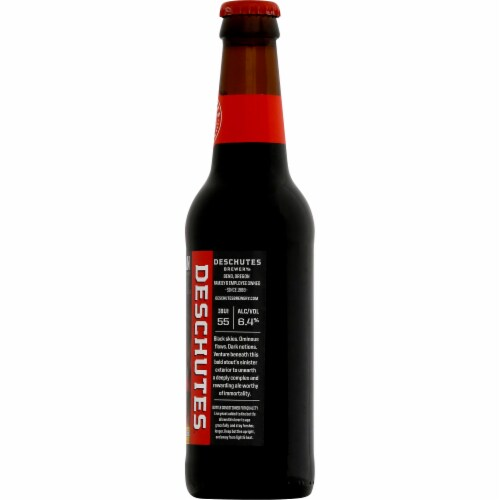 Deschutes Brewery Obsidian Stout Perspective: right
