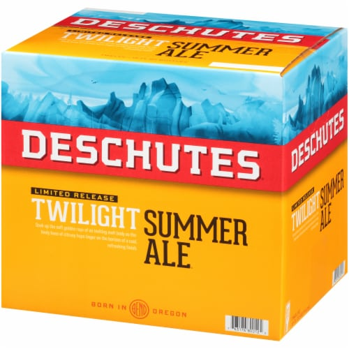 Deschutes Brewery Hop Slice Summer Ale Perspective: right