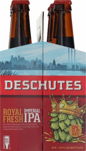 Deschutes Brewery Royal Fresh Imperial IPA Perspective: right