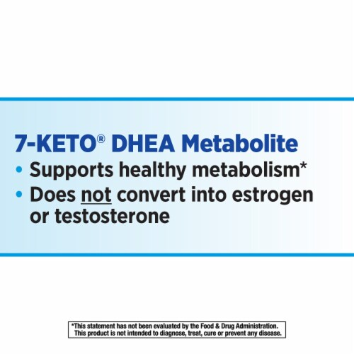 Nature's Way® 7-Keto® DHEA Metabolte25 mg Perspective: right