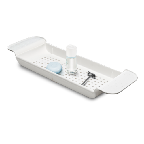 madesmart® Expanding Bath Tray Perspective: right
