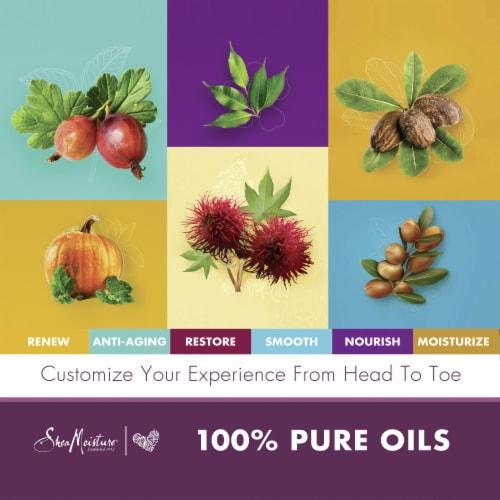Shea Moisture Tea Tree + Premium Blend Head to Toe Clarifying Essential Oil Perspective: right