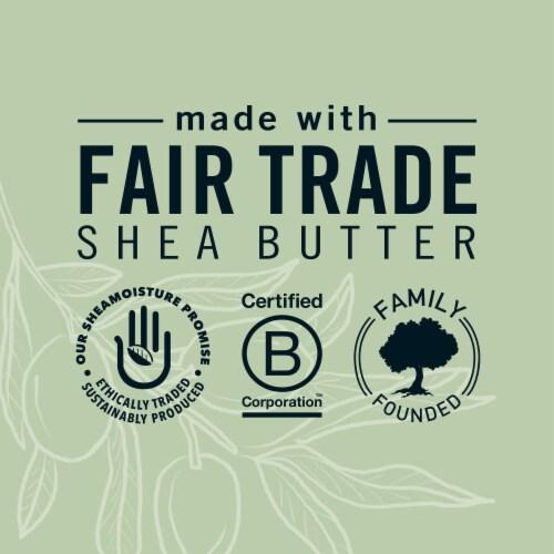 Shea Moisture Green Tea & Olive Oil Moisturizing Bar Soap Perspective: right