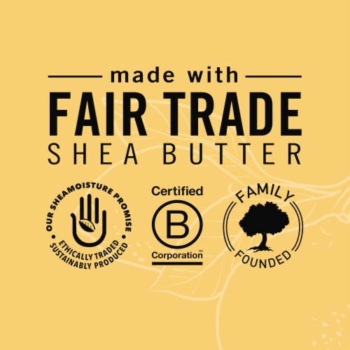 Shea Moisture Meyer Lemon & Mint Invigorating Bar Soap Perspective: right