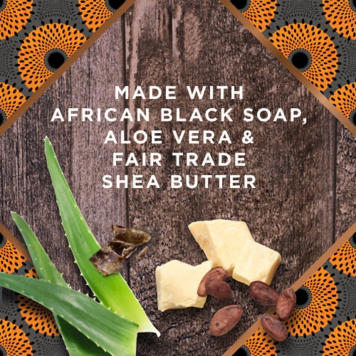 Nubian Heritage Sulfate-Free African Black Soap Detoxifying Body Wash Perspective: right